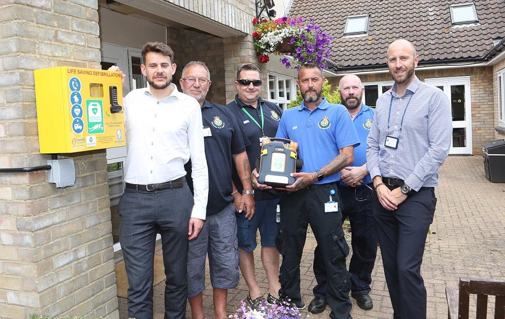 Partnership provide lifesaving equipment for Colchester