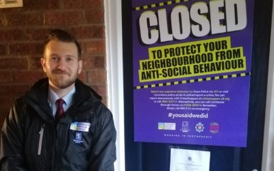Colchester Borough Homes works with Essex Police to tackle Anti-social Behaviour