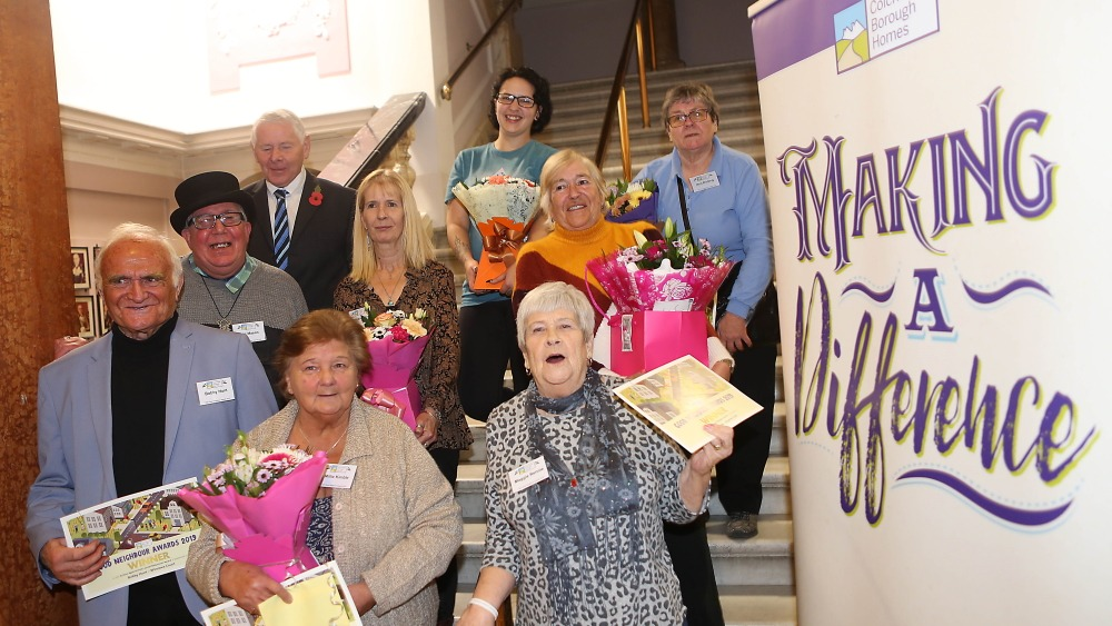 Colchester Borough Homes announces Good Neighbour Award Winners