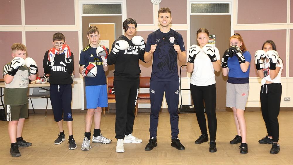 Team GB boxer supports Colchester Borough Homes Box Smart initiative