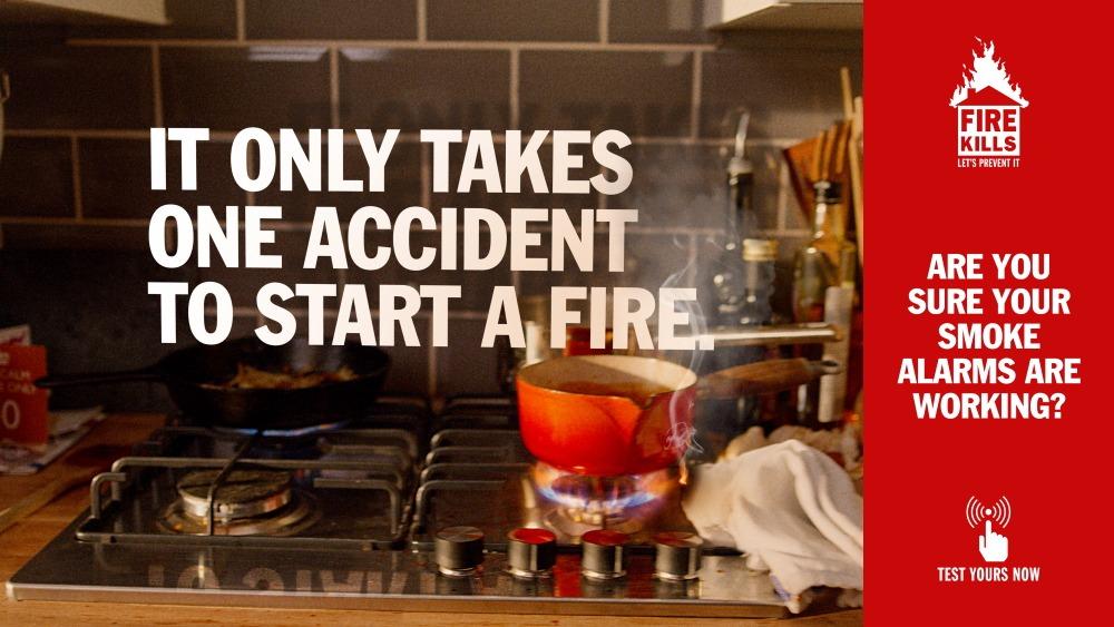 Fire Kills campaign
