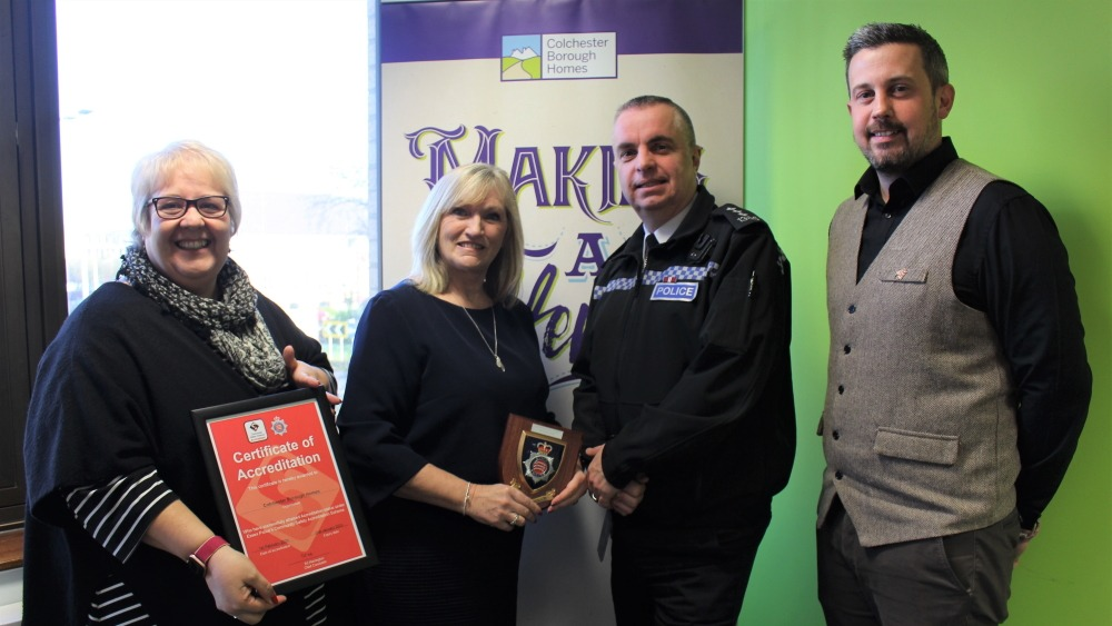 Colchester Borough Homes and Essex Police celebrate ten-year partnership
