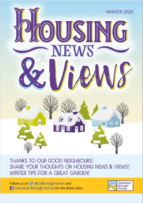 Housing News and Views cover - Winter 2020