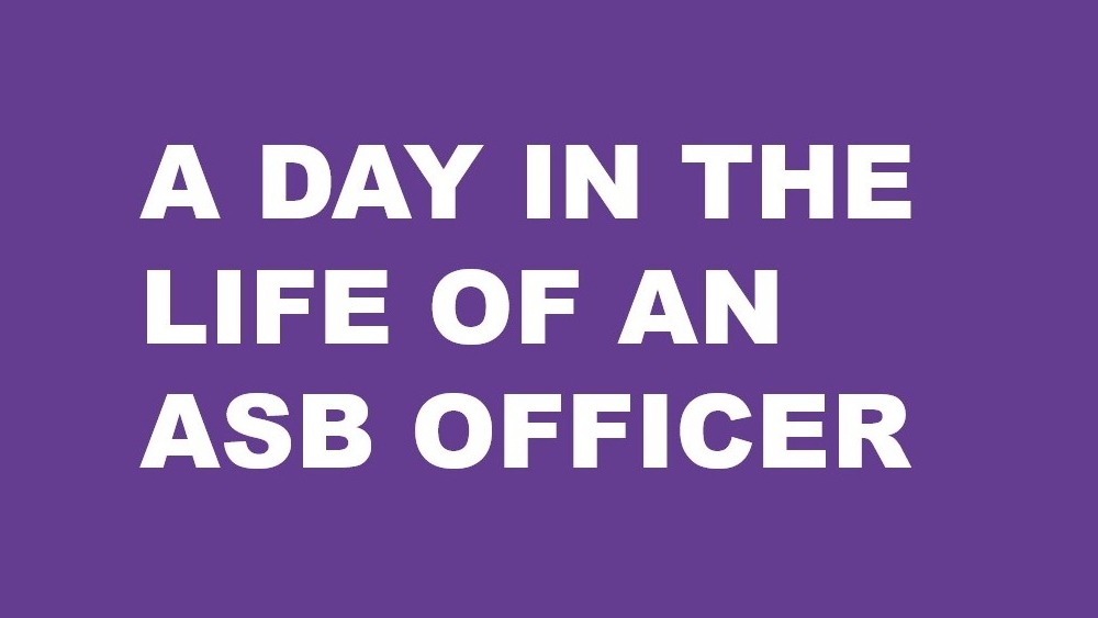 A day in the life of an ASB Officer